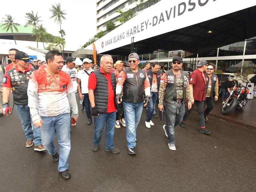 Ketua MPR: Filosofi Komunitas Bikers Seirama dengan Nilai Empat Pilar