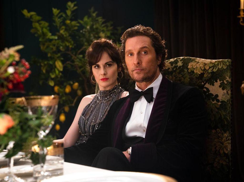 Matthew McCounaghey Jadi Satu-satunya Aktor Amerika di The Gentlemen