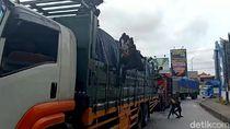 Polisi Pekalongan Razia 70 Anjal yang Sering Adang Truk di Pantura