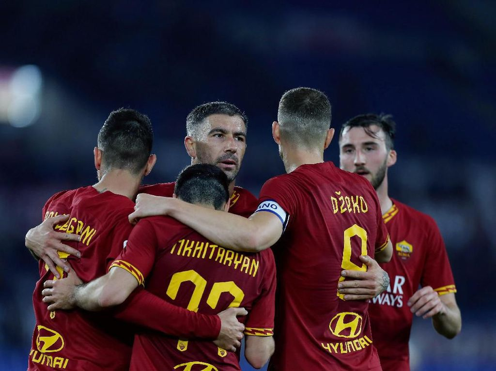 AS Roma Vs Lecce: Giallorossi Menang 4-0