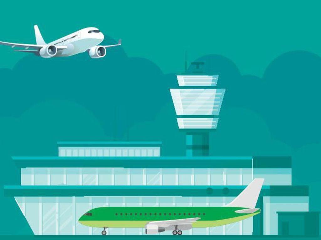 Ini Dia Terminal Tiap-tiap Maskapai di Bandara Soekarno Hatta