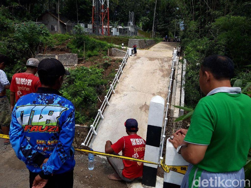 Jembatan Baru Senilai Rp 1,2 M di Boyolali Ambrol