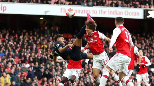 Dominic Calvert-Lewin bawa Everton unggul lebih dulu di laga kontra Arsenal