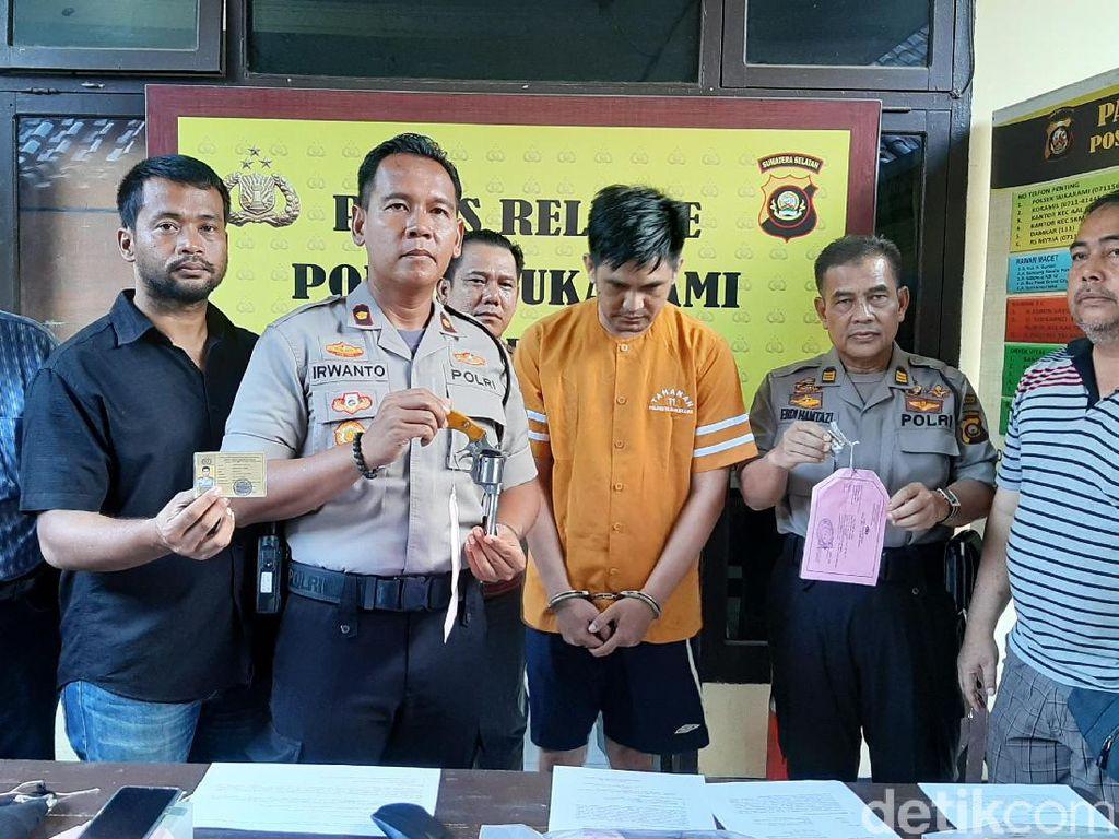 Jual Senjata Api Rakitan, Pecatan Polisi di Palembang Ditangkap