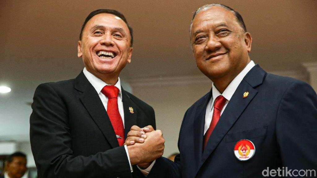 Kepengurusan PSSI Pimpinan Iriawan Resmi Dilantik