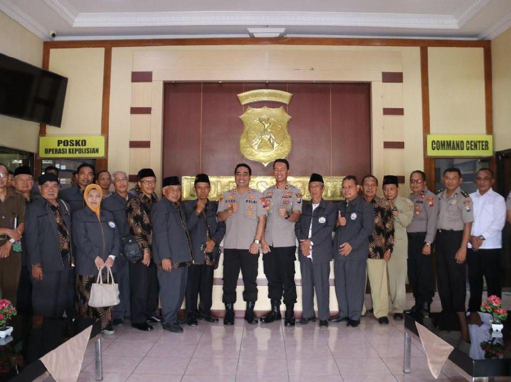 Jelang Pilkada, Polisi Ngawi Ajak Tokoh Agama Kondusifkan Wilayah