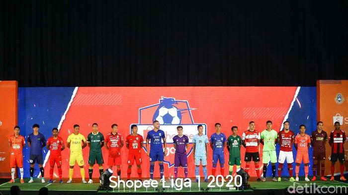 Launching Shopee Liga 1 2020 telah digelar. Ini menjadi tahun kedua Shoppe menjadi sponsor utama kasta tertinggi antarklub di Indonesia.