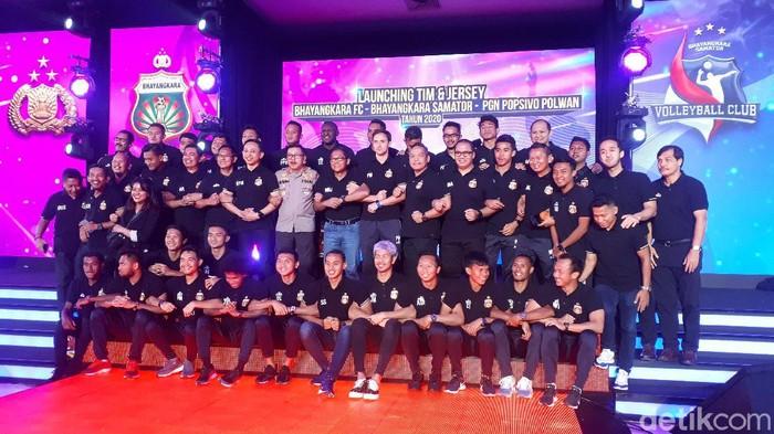 Perkenalan tim Bhayangkara FC untuk Shopee Liga 1 2020.