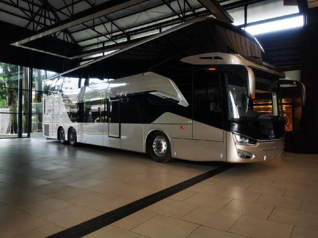 Harganya Rp 3 M, Intip Spesifikasi Bus Tingkat Indonesia yang Diekspor