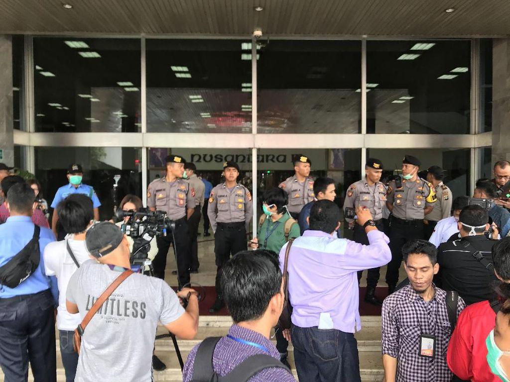 Alarm Kebakaran di DPR Berbunyi, Gedung Nusantara III Disterilkan