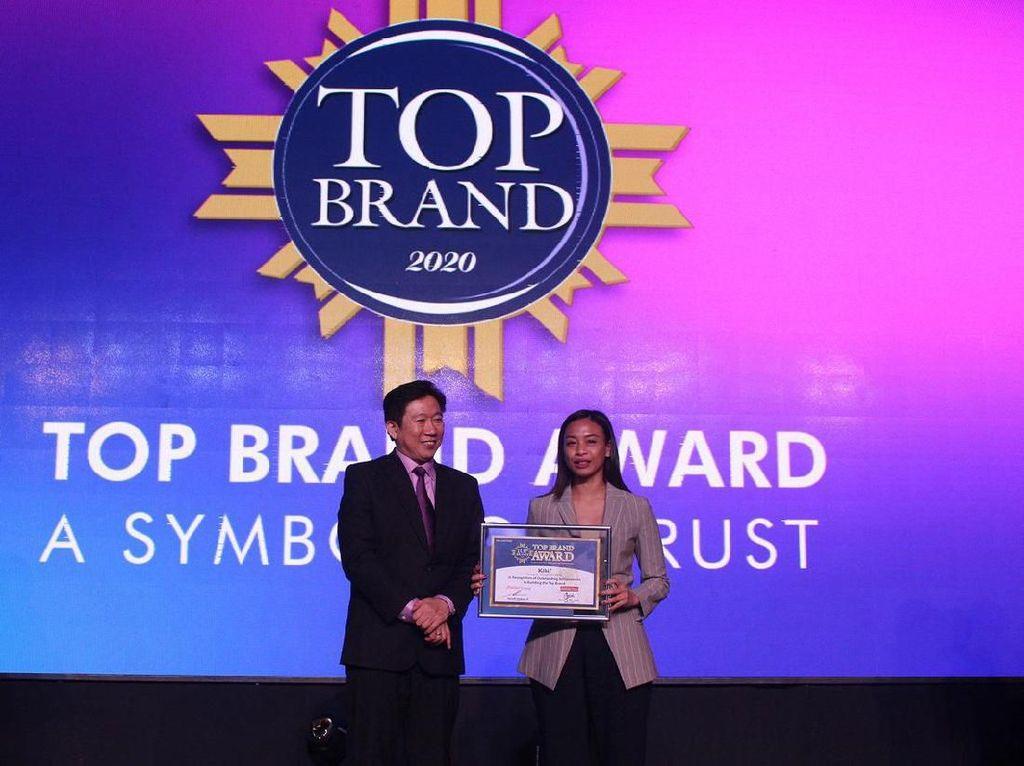 KIBIF Raih Penghargaan Top Brand Award 2020