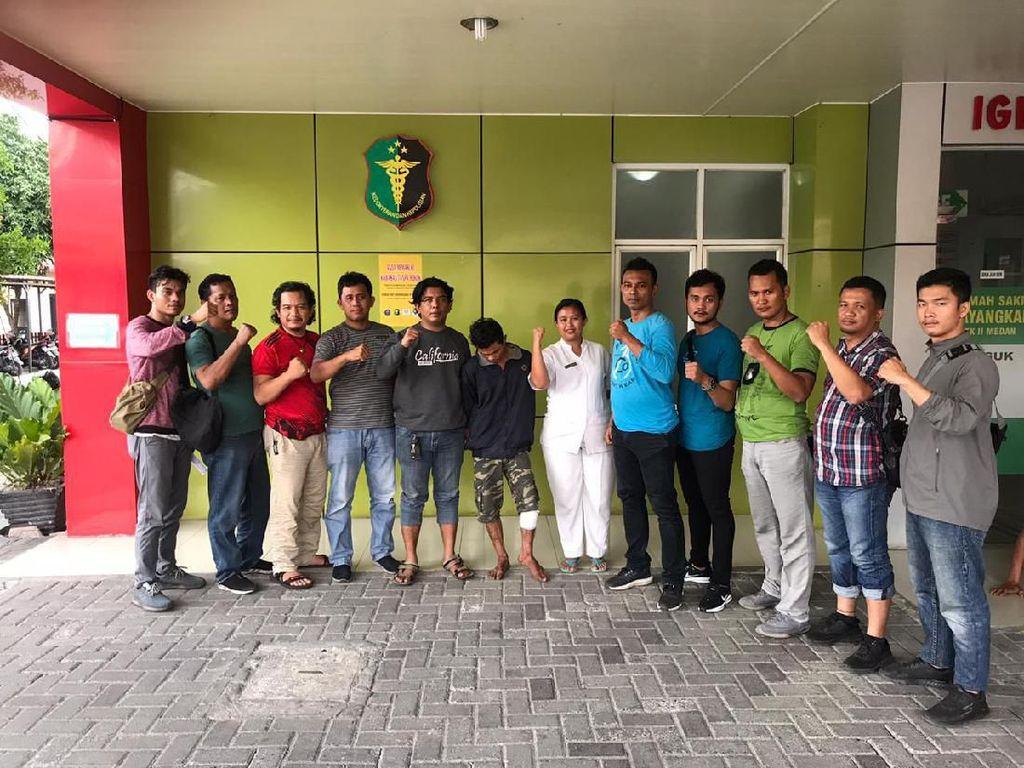 Beraksi di 22 Lokasi, Pelaku Curanmor di Medan Ditembak Polisi
