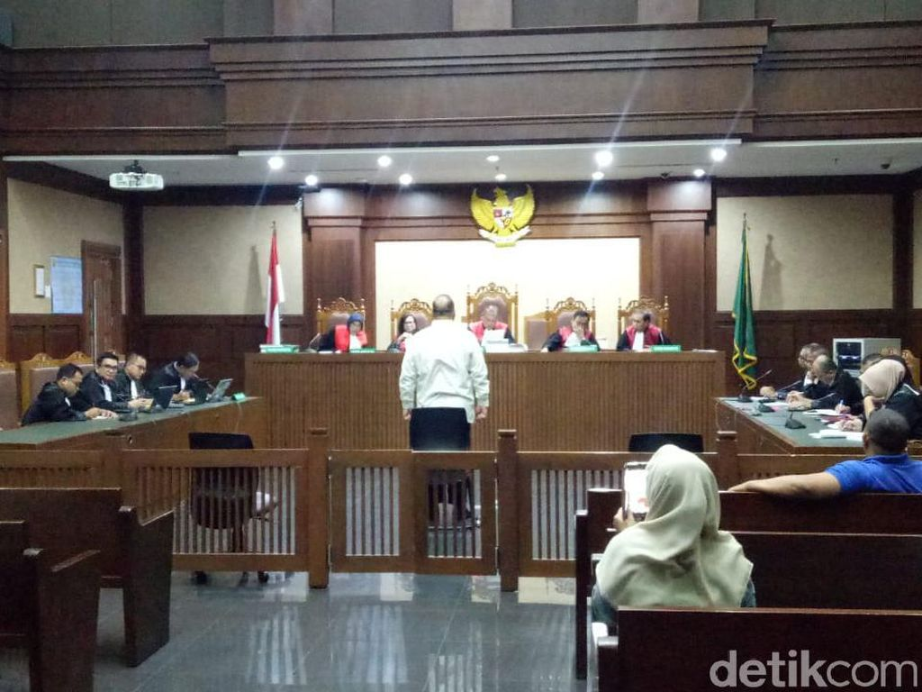 Kasus Suap, Eks Aspidum Kejati DKI Divonis 5 Tahun Penjara