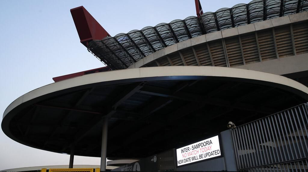 Potret Stadion San Siro yang Ditutup Imbas Virus Corona