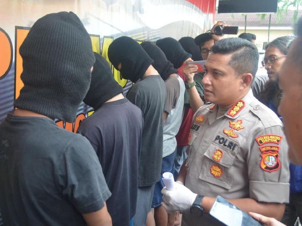 Polisi Tangkap 6 Pelajar Pelaku Begal Sadis di Cisalak Depok
