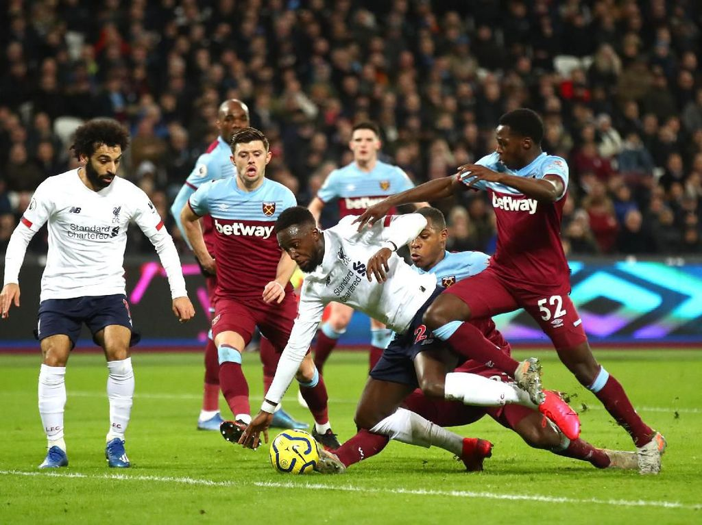 Link Streaming Liverpool Vs West Ham