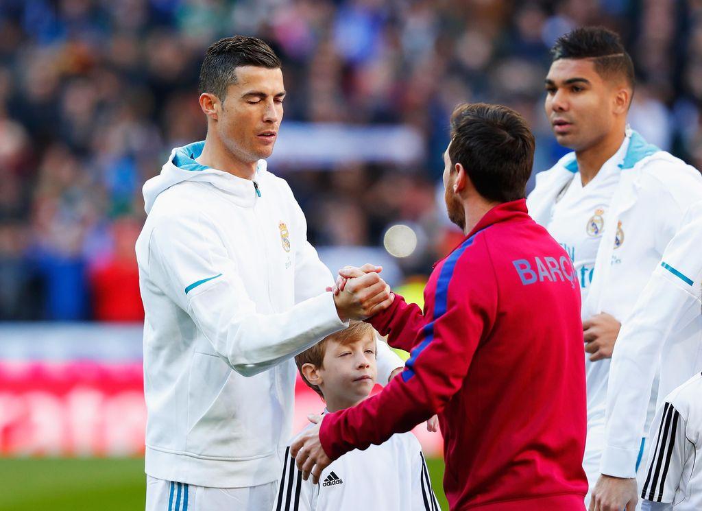 Cristiano Ronaldo dan Lionel Messi