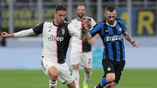 Juventus vs Inter Milan rencananya akan dimainkan secara tertutup tanpa penonton.