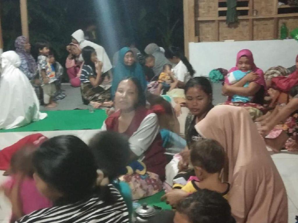 Imbas Banjir Bandang di Lombok Timur, 255 Orang Mengungsi