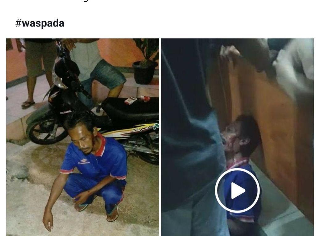 Heboh Pria Babak Belur Dituding Culik Anak di Sukabumi, Begini Faktanya