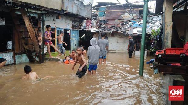 PUPR Sebut Banjir Jakarta karena Drainase bukan Luapan Sungai