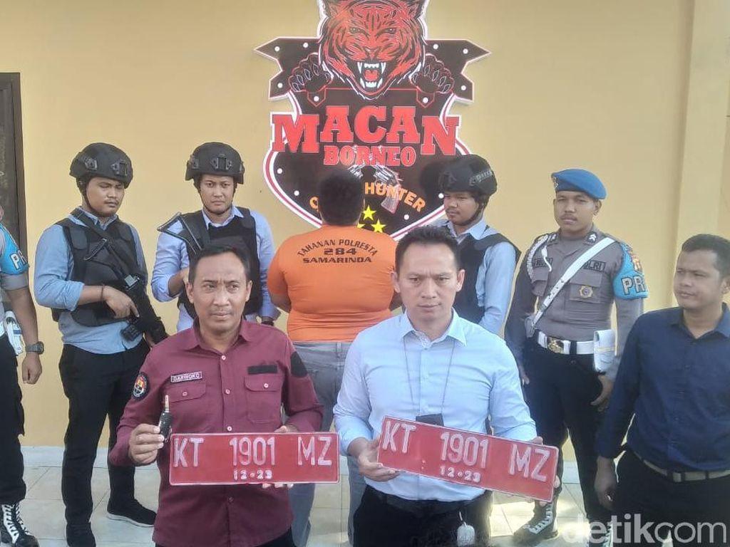 Polisi Tangkap Staf yang Curi Mobil Ketua KPU Samarinda, Motifnya Sakit Hati