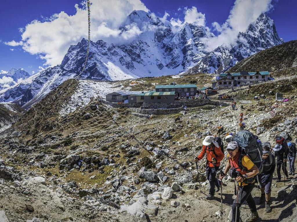 Himalaya Masih Tutup, Sherpa Alih Profesi Jadi Petani