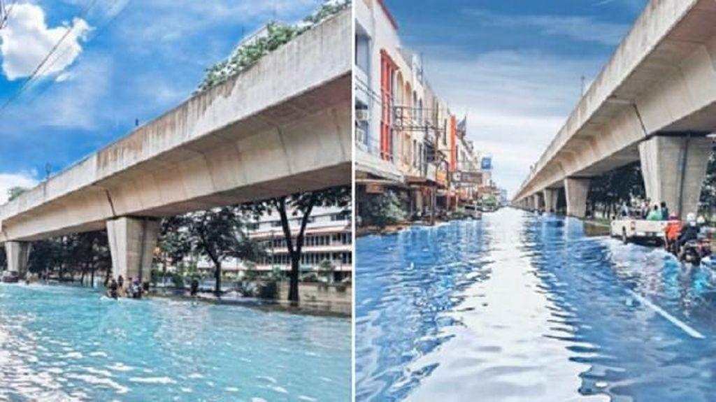 Meme Formula E di Tengah Banjir, Anies Disindir