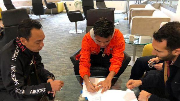 Garuda Select: Brylian Aldama Satu Agensi Pemain dengan Siem de Jong