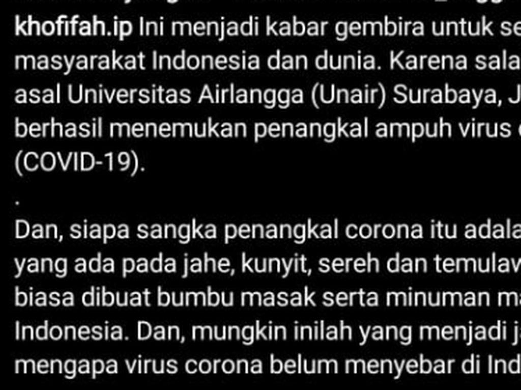 Viral Lagi, Siapakah Prof Nidom Penemu Jamu Penangkal Corona?