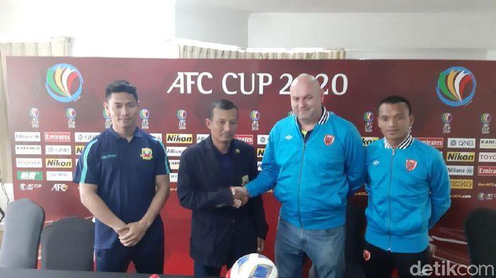 Konpers jelang PSM Makassar Vs Shan United di Piala AFC 2020