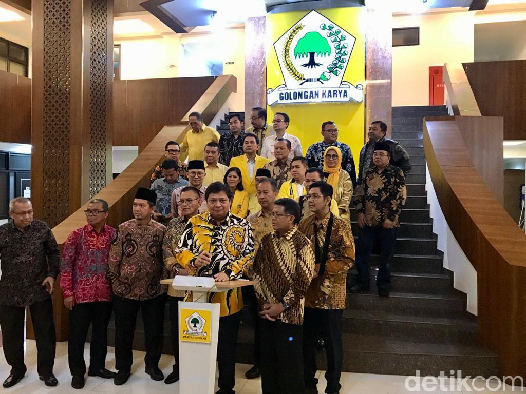 Bertemu Sohibul Bahas Pilkada, Airlangga: Golkar-PKS Bisa Kerja Sama
