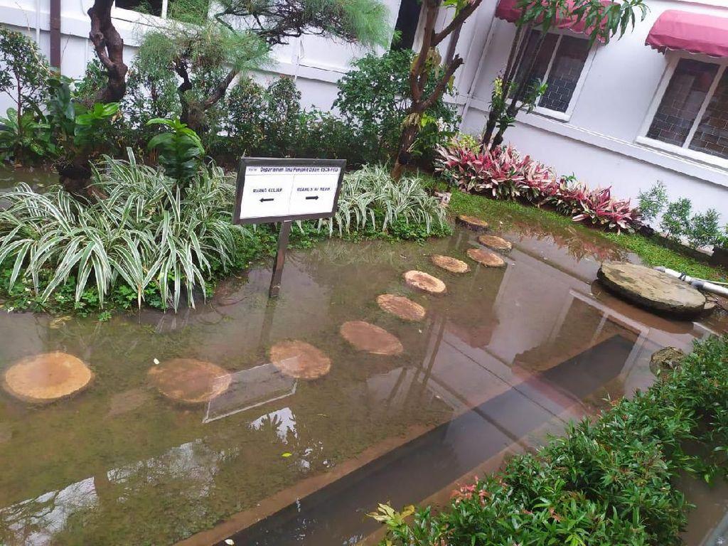 Jakarta Hujan Deras, RSCM Kebanjiran Lagi