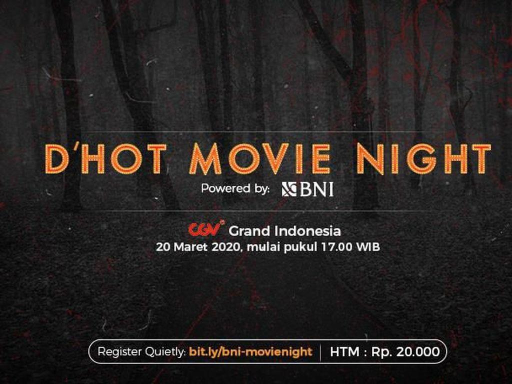 Nonton Hemat Cuma Rp 20 Ribu, Ikutan BNI dHot Movie Night Yuk!