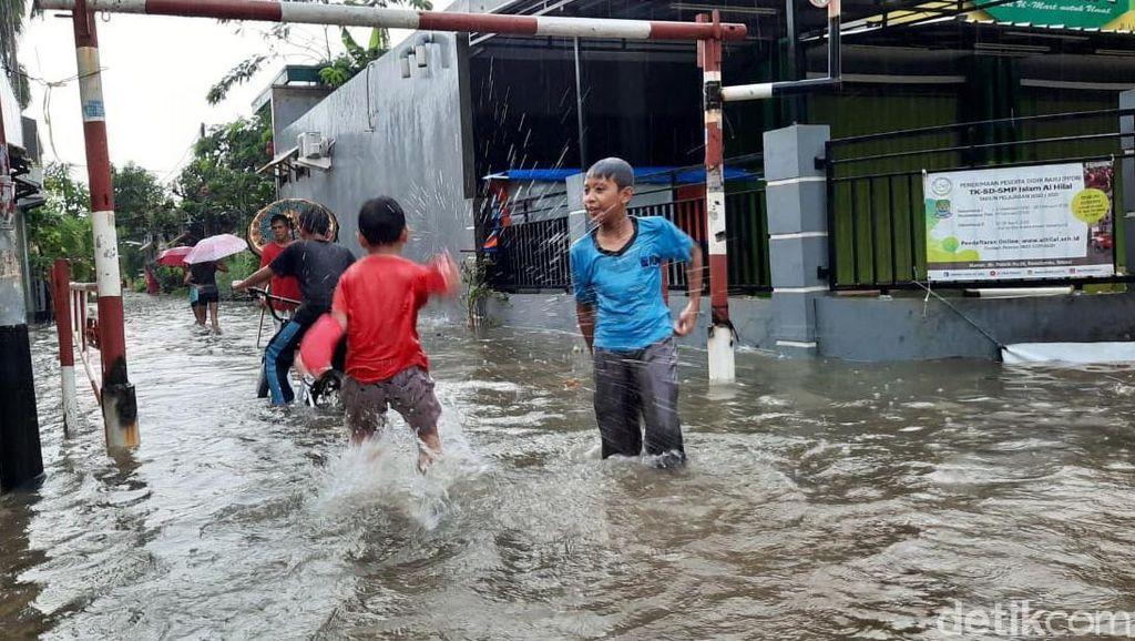 Pagi Ini Bekasi juga Kebanjiran Lagi