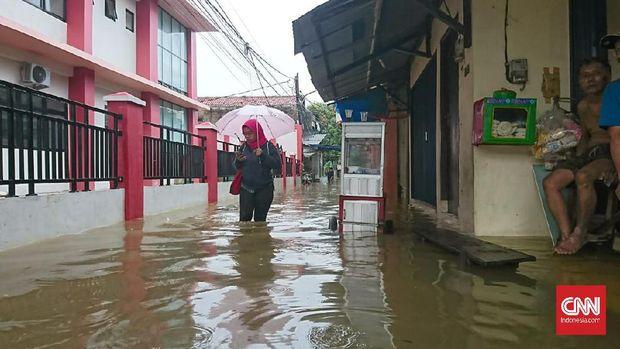 Jakarta Terendam Banjir, Anies Baswedan Batalkan Semua Rapat