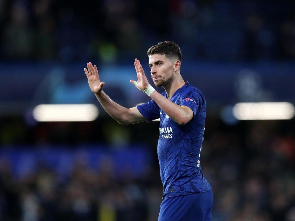 Sulit Dapatkan Aouar, Arsenal Coba Pinjam Jorginho dari Chelsea