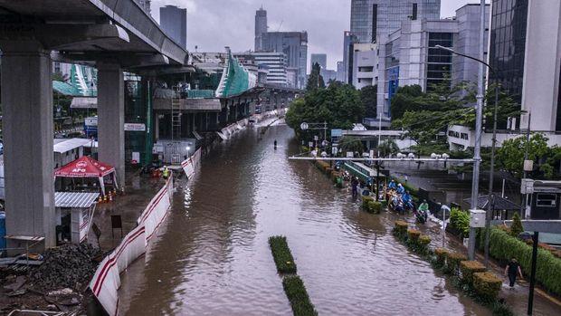 PSI Kritik Anies: Formula E Kerja Cepat, Banjir Malah Bungkam