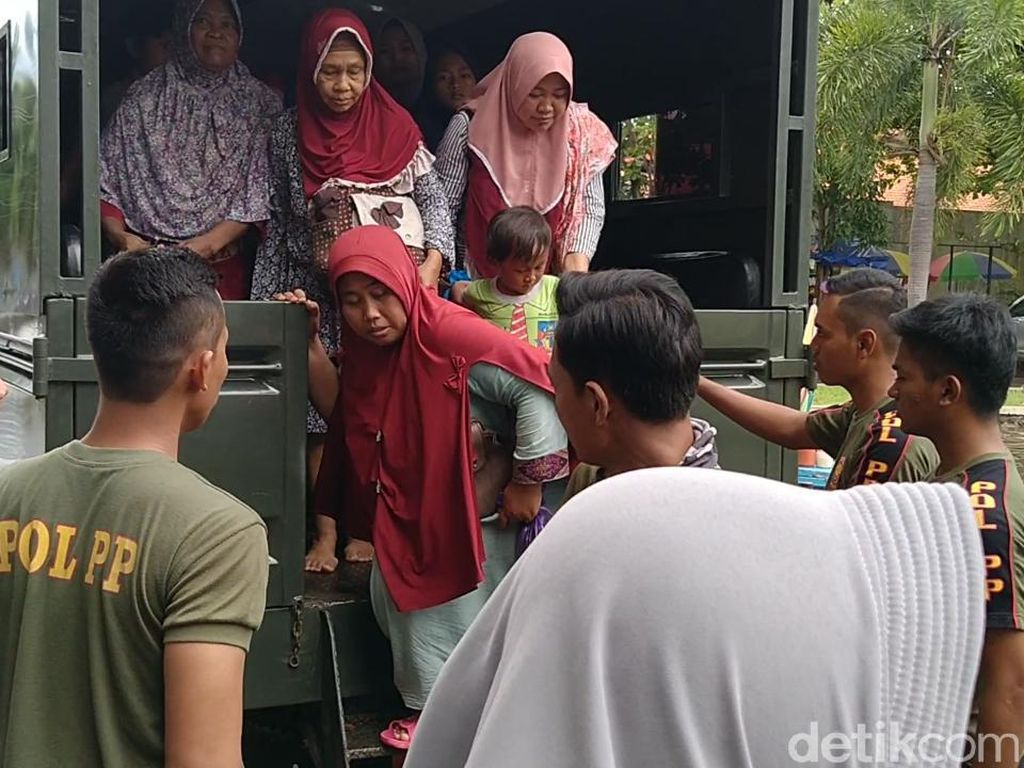 BPBD: 80 Persen Kota Pekalongan Terendam Banjir, 1.776 Warga Mengungsi
