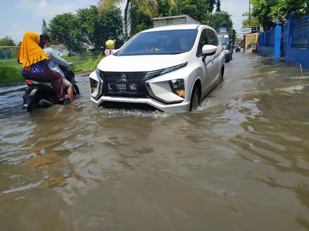 Hujan Deras Sejak Semalam, Beberapa Titik Kota Sidoarjo Banjir