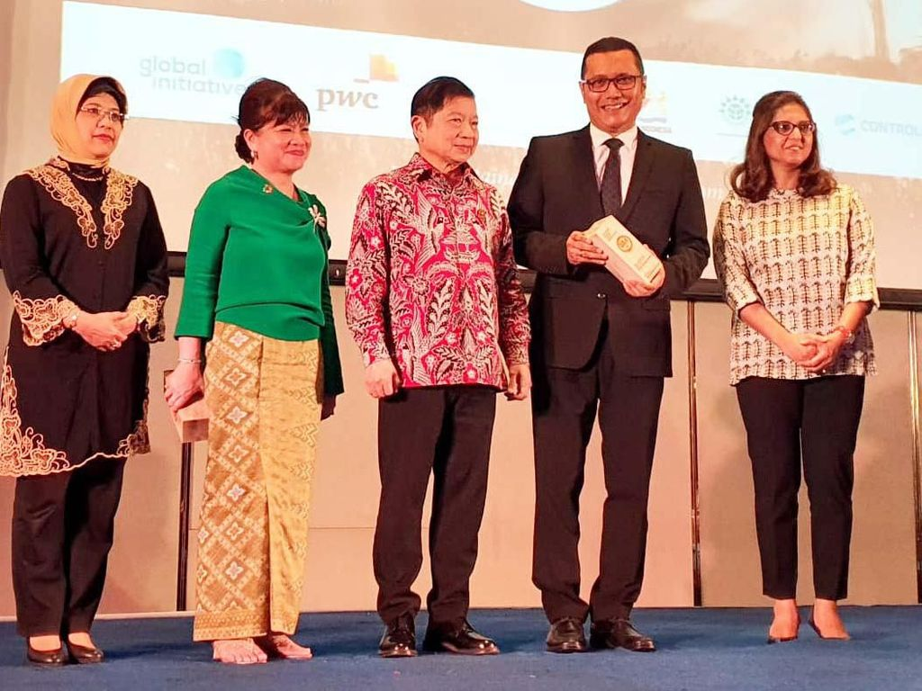 Menteri PPN Hadiri Sustainable Business Awards