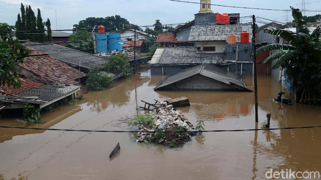 Kondisi Terkini Banjir di Cipinang Melayu