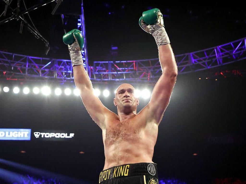 Di Timbuktu Sekalipun, Tyson Fury Siap Hadapi Anthony Joshua