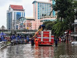 Banjir di Jakarta Bikin Pengusaha Rugi hingga Rp 45 M