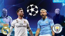 Prediksi Madrid Vs City, Adu Taktik Dua Pelatih Pelontos