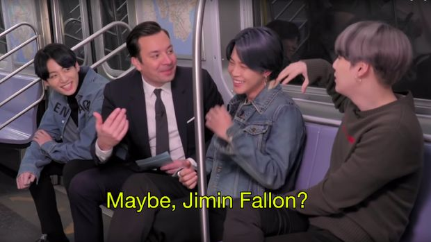 BTS & Jimmy Fallon