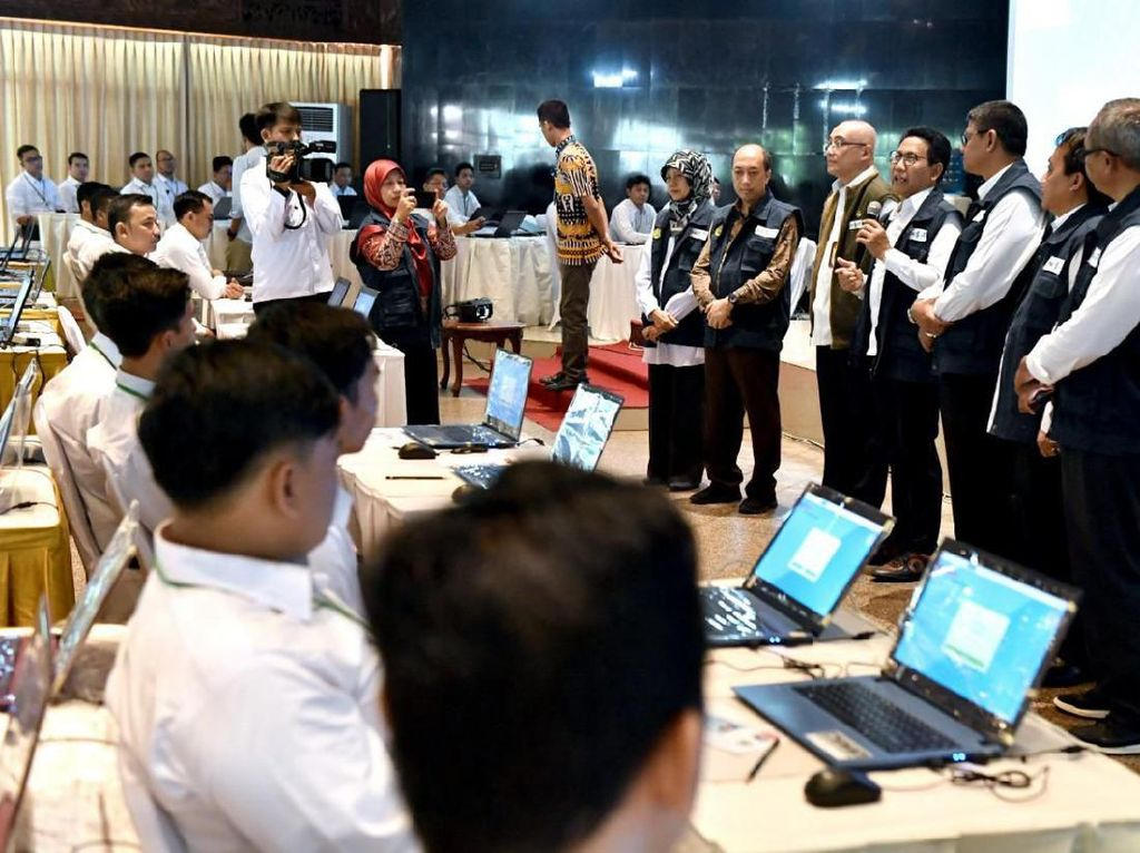 Tinjau Tes SKD CPNS di Jakarta, Mendes: Ikuti dengan Niat Ibadah
