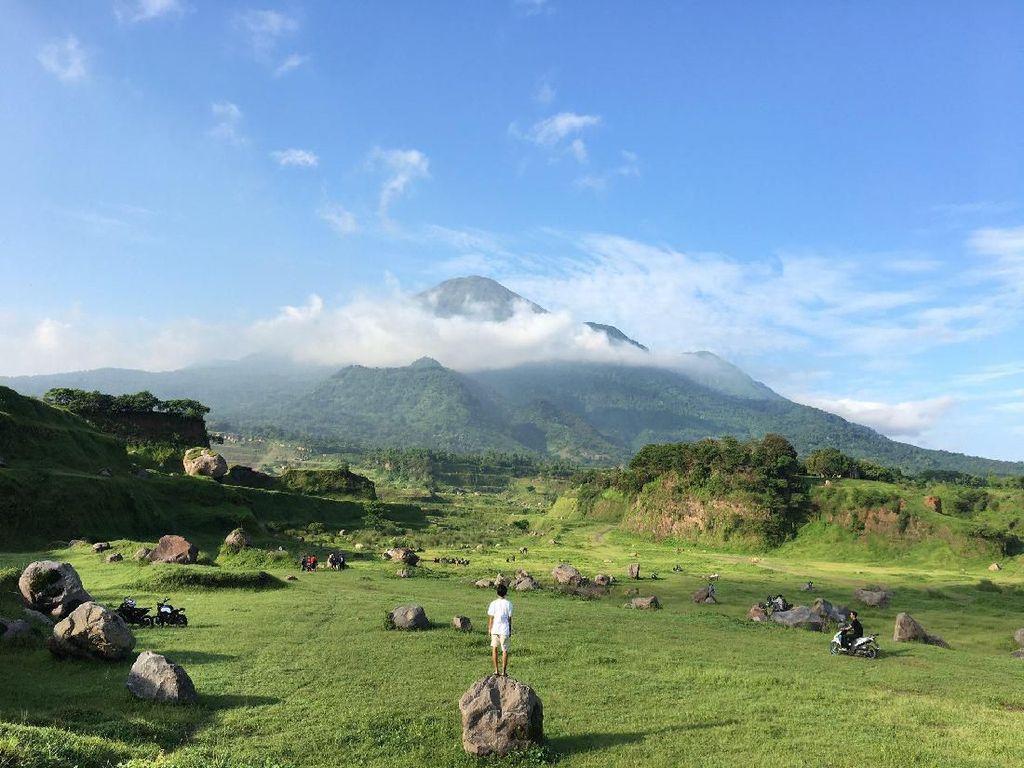 Padang Rumput Keren di Ranu Manduro, Mojokerto Jelmaan Bekas Tambang