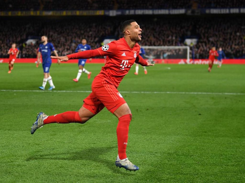 Sindir Chelsea, Serge Gnabry: London is Red