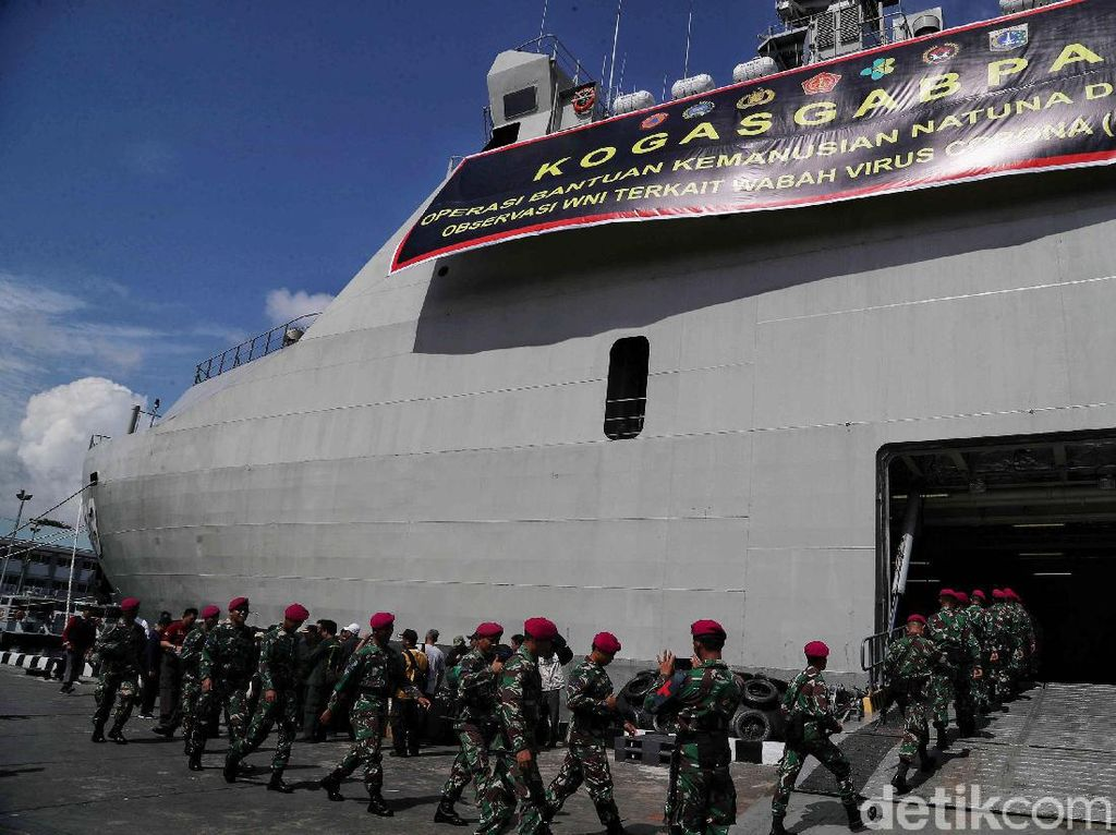 BNPB Jamin Tempat Observasi WNI di Pulau Sebaru Lebih Baik dari Natuna